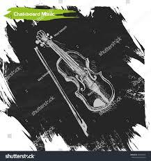 vector background sketch violin violin sketch illustration stock