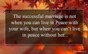 successful marriage quotes the successful marriage is not when you can live in peace with