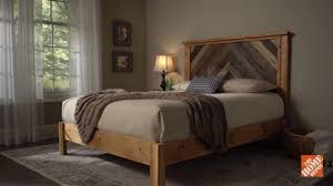 How To Build A DIY Wooden Headboard  DIY Projects  How To Videos
