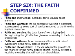 church growth principles continuing with the priorities from acts