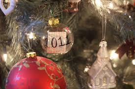 diy guide time capsule christmas tree ornament the pink bride