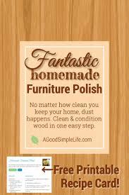 fresh ingredients in furniture polish home decoration ideas