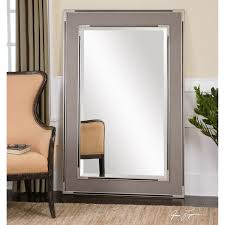 Home Decoration Stuff by Furniture Oversized Floor Mirror With White Wall And Staircase