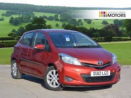 used toyota yaris cars for sale in northwich cheshire motors co uk