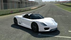 Porsche 918 Concept - porsche 918 spyder concept real racing notes