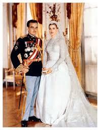 wedding dress grace 1956 grace wedding dress royal princess 1950s weddings