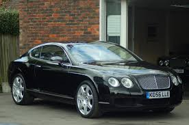 Bentley Continental Gt Mulliner U2013 Triple Black 2007 U002756 U2013 Phantom