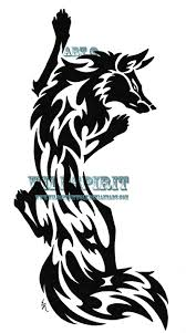 free tribal wolf tattoo design real photo pictures images and