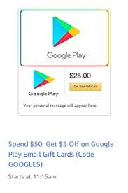 play email gift card stuffer play email gift cards buy 50 save 5