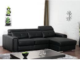 canape cuir solde canape cuir noir pas cher canapac dangle en cuir dionysos noir angle
