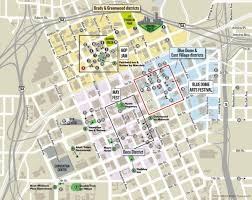 Downtown New Orleans Map by Find Your Map To Downtown U0027s Restaurants Bars And Shops Downtown