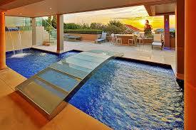 Indoor Pool Design 25 Fascinating Pool Bridge Ideas That Leave You Enthralled