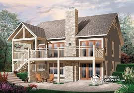 walk out basement plans walk out basement design house plan w3941 detail from