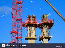 slip form concrete towers new construction tower cranes milton