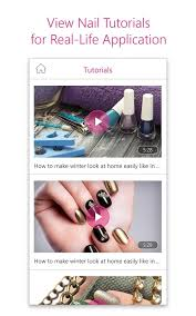 youcam nails manicure salon for custom nail art android apps
