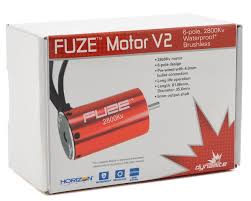 dynamite fuze 6 pole brushless motor 2800kv dyns1614 cars