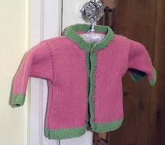 Easy Knitting Pattern For Baby Cardigan Sweaters Download