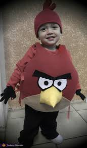 Angry Birds Halloween Costume Homemade Angry Bird Costume