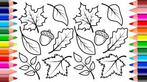 fall coloring pages 2017 coloring book setoys youtube