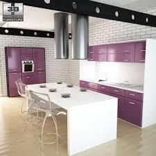 furniture kitchen set kitchen set i3 3d model cgtrader