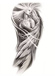female angel tattoo sleeve tattooforaweek temporary tattoos