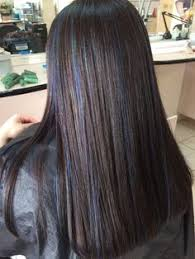 diy highlights for dark brown hair 17 best ideas about blue hair highlights on pinterest colored