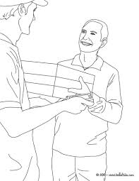 postman drawing for kids coloring pages videos for kids