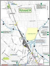 Map Of Richmond Virginia by Railfan Guide To Richmond Va Acca Yard Area