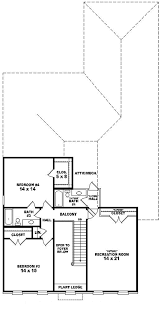 whittier valley colonial home plan 087d 0985 house plans and more