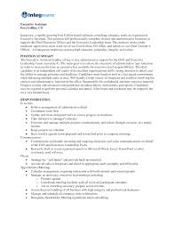 assistant resume template free executive assistant resume sle free paso evolist co