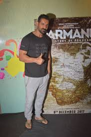 john abraham john abraham at u0027parmanu u0027 movie promotion event