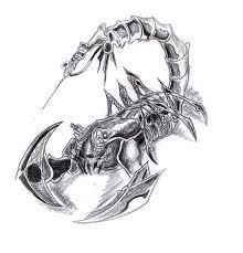 mechanic tattoo drawing image gallery mechanical scorpion