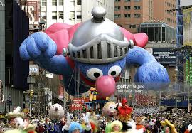 macy s thanksgiving day parade fills streets of new york photos