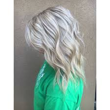 silver hair with blonde lowlights ice blonde with ash lowlight for fall hair by ashley simpson fort