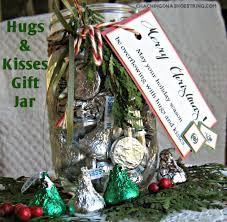 hugs u0026 kisses gift jars homemade christmas gifts the happy