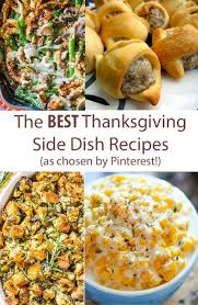 best 25 side recipes ideas on thanksgiving recipes
