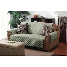 furniture double sided loveseat cover with indoor plants and jute