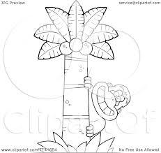 cartoon clipart of a black and white bigfoot sasquatch behind a