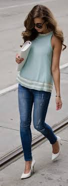 light blue top women s 1392 best clothing ideas images on pinterest feminine fashion for