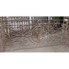 antique french colonial iron balcony railing eron johnson antiques