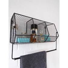 Bathroom Storage Black Wire Shelves With Baskets For Bathroom Storage Metal Wire