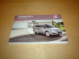 vauxhall opel zafira b owners manual handbook 2005 2011 1 6