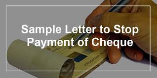Request Letter For Bank Certification Sle Sample Letter To Bank Manager For Stop Payment Of Cheque Cover
