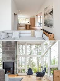 Wohnzimmer Fenster Nord Minnesota See Haus Durch Strand Entwurf U2013 Home Deko
