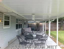 Insulated Aluminum Patio Cover Aluminum Pan Roof Difference In Pan Gutter For Florida Style