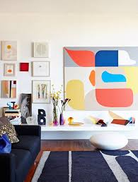 Large Artwork For Living Room by Design Lessons New Ways To Arrange Hang And Display Artwork