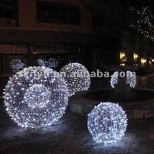 Extra Large Outdoor Christmas Tree Ornaments by Outdoor Christmas Ball Lights U2013 Home Design And Decorating