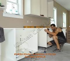 how do you hang kitchen cabinets ikea cabinet installation installing kitchen cabinets sensational