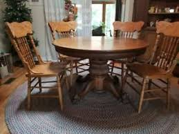 oak dining room sets antique oak dining table ebay