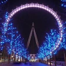 250led 50m white blue string fairy light lighting party wedding garden